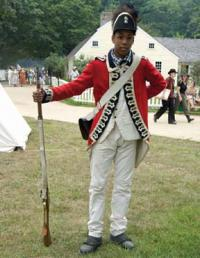 Rasheed Walters: Joined a British re-enacting group to honor ancestors, teach peers.