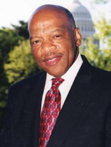 Congressman John Lewis: Will be keynote speaker at JFK Library event on Sunday.