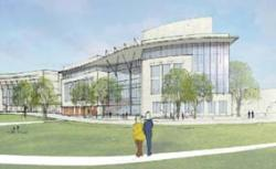 Latest UMass Boston building plan: Will house performing arts and science classes. UMass Boston image