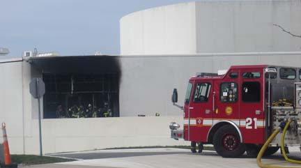 JFK Library official: Fire not related to marathon explosions | Dorchester Reporter