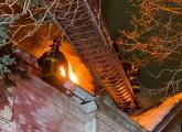 Glenway Street fire