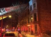 Washington Street fire scene