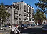 Rendering by Rode Architects of proposed building