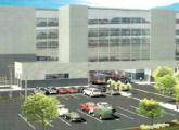 A rendering shows the design of a car dealership that Herb Chambers had proposed for 75 Morrissey Blvd. Chambers sold the land last month for a reported $14.5 million.