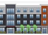 Rendering of proposed 1813 Dorchester Ave. building