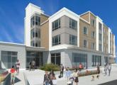 Proposed new apartment building