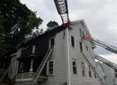 Fire on Hancock Street