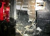 Interior of 7 Ranier Road after fire.