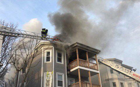 109 Fuller St. fire