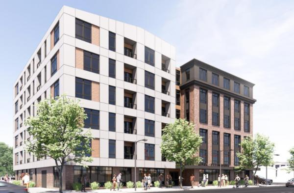 1320 Dorchester Ave. rendering
