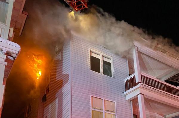 Fire on Mattapan's Woolson Street displaces 22