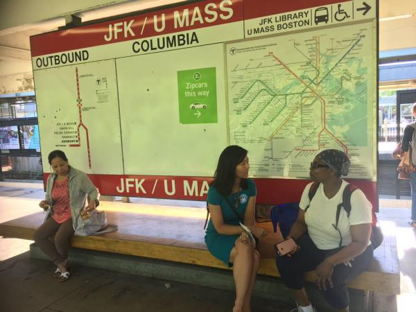 Riders, electeds protest #UnfairHikes across MBTA system