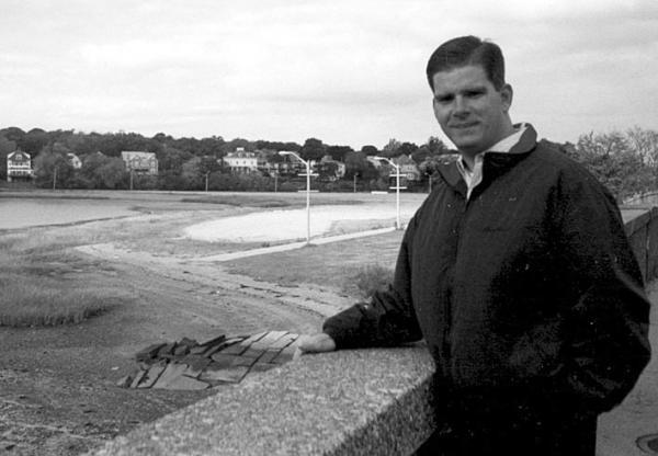 Marty Walsh Is Shown In A Reporter File Photo Taken Near Savin Hill Beach By Bill Forry