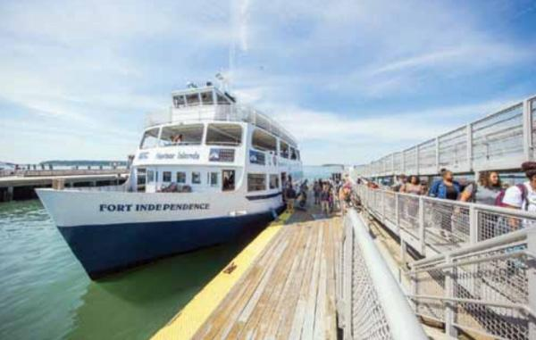 Could passenger ferry service work along Dorchester's waterfront? Photo courtesy Boston Harbor Now