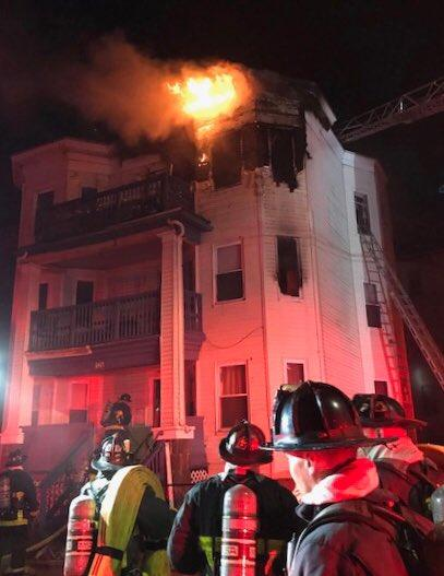 Armandine Street fire.