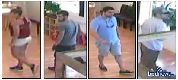 four sought for robbery at new dorchester avenue jewelry