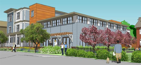 Proposed expansion for Epiphany School