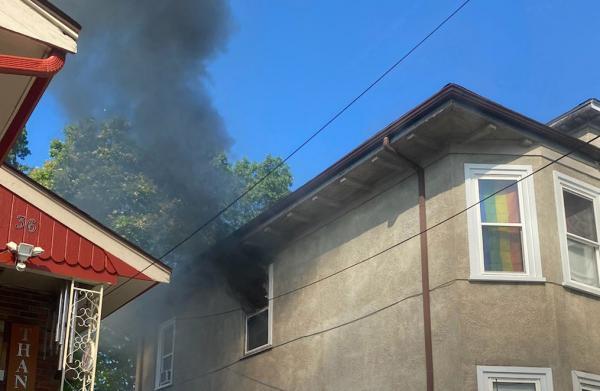 Hazleton Street fire