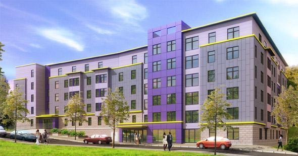 Proposed Uphams Corner development