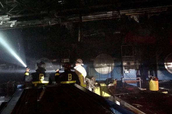 Mattapan fire scene