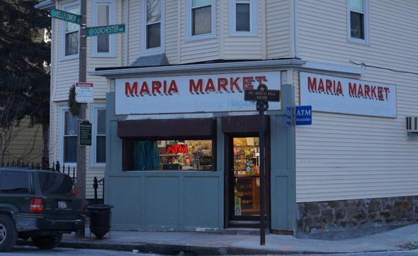 Maria Market on Dorchester Avenue