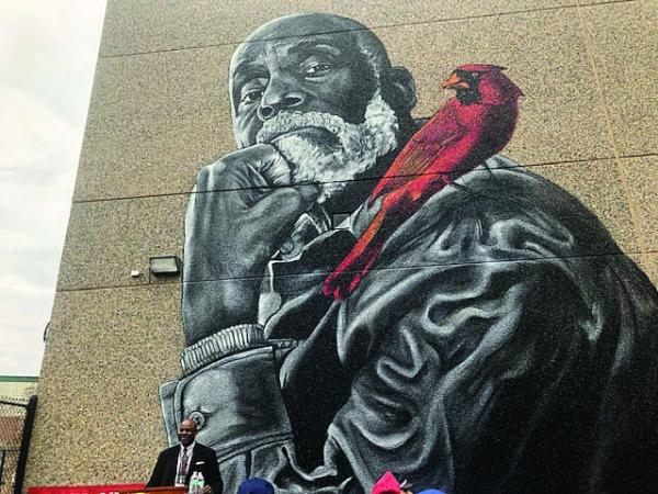 Mel King Mural Is Dedicated At Madison Park High School Dorchester Reporter