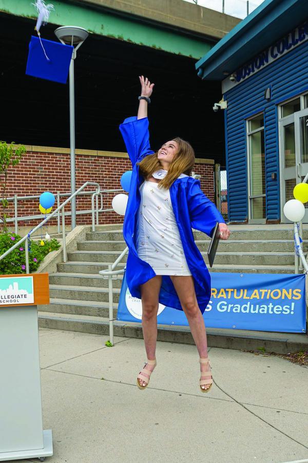 BCCS celebrates Class of 2020 in drive-through graduation