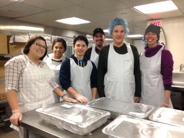 The student-run Kitchen at UMass Boston