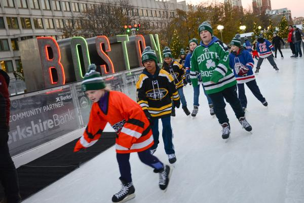 City State Ice Skating Rinks Open For Season