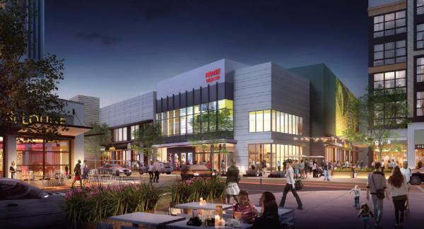 Archictect's rendering of South Bay Town Center