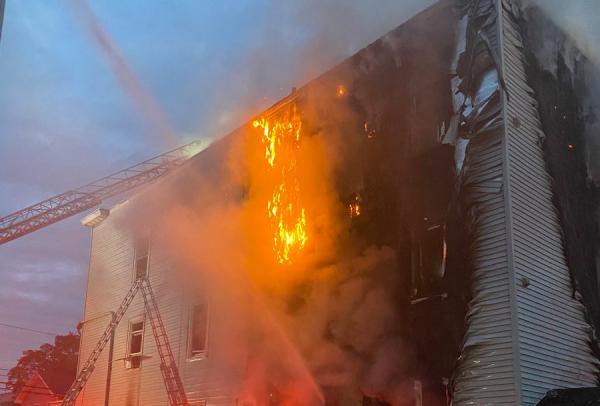 Stanley Street fire