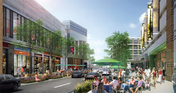 South Bay Town Center proposal
